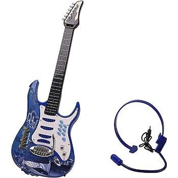 MRKE Guitarra Electrica Niños 6 Cuerdas Rock Juguete de ...