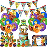 Nelton Birthday Party Supplies For Scooby Doo Includes Banner - Cake...