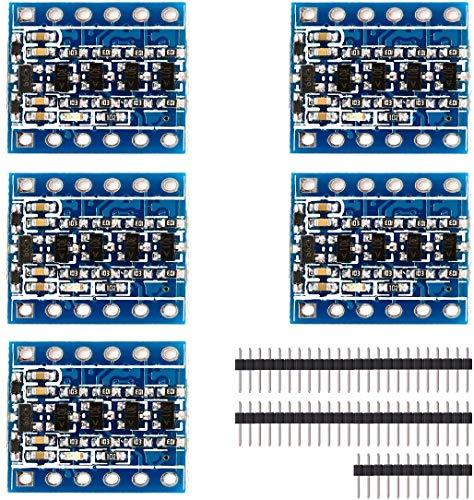 Amazon.com - 5pcs Logic Level Converter Bi-Directional Module 5V to 3.3V