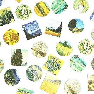270Pcs Stickers Set Scrapbooking Stickers for Planner DIY Crafts Scrapbooking Embelishment Diary (Meet Van Gogh)