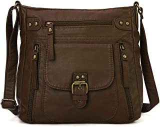 KL928 Tasche Damen Umhängetasche kleine Handtaschen Schultertasche Damentasche Damenhandtasche mittelgroß handtasche Leder...