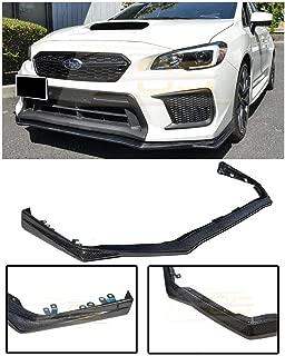 For 2018-Present Subaru Impreza WRX & STi   EOS V-LIMITED Style CARBON FIBER Front Bumper Lower Lip Splitter Under Spoiler
