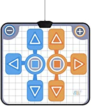 $45 » Thincol Double Person Dance Mat, Soft and Non-Slip Durable Dance Pad, for Nintendo Wii Console Game, for Kids Boys & Girls...