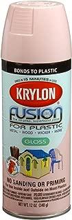 Krylon K02331007 Fusion for Plastic Spray Paint, Fairytale Pink