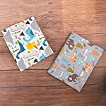 ALVABABY-Pack-n-Play-Baby-Play-Playard-Sheets-2pcs-100-Organic-CottonLarge-27x39x4Soft-and-LightPortable-Crib-Sheet-for-Boys-and-Girls-Player-Matteress-2FTPSW09