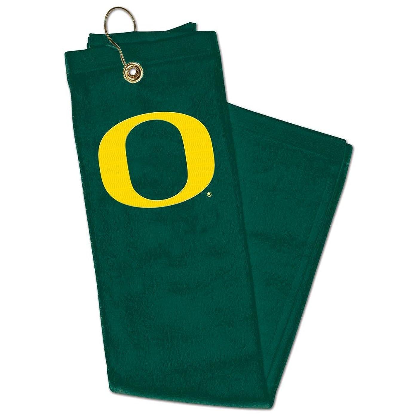 Wincraft NCAA Oregon University of Embroidered Golf Towel, 15
