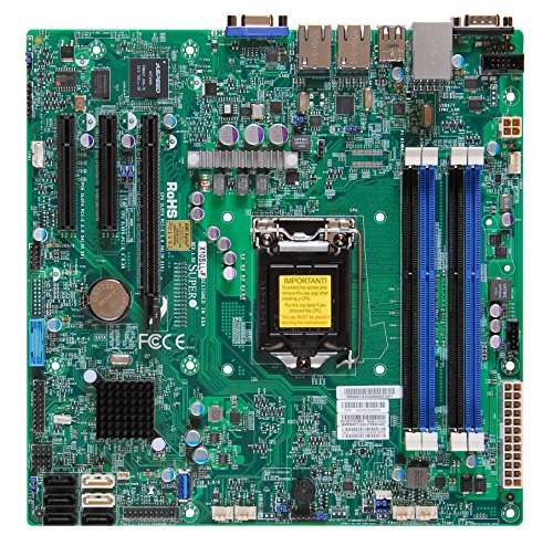 Supermicro Motherboard Micro ATX DDR3 1600 LGA 1150 Motherboards...
