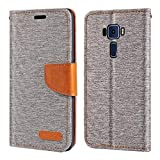 Asus Zenfone 3 Deluxe ZS570KL Case, Oxford Leather Wallet