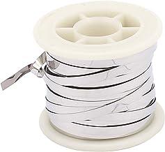 sourcingmap® 10M 32,8pies 0,2x4mm Cable calefactor plana nicromio para elementos de calefacción