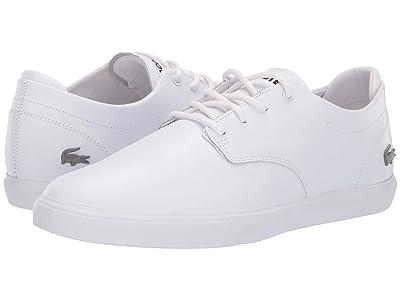 Lacoste Esparre BL 1 (White/White) Men