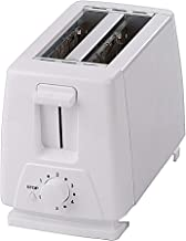 Homwel Toaster 2 Slice,Extra Wide Slot Toasters 2 Slice 6 WHITE Settings and Removable Crumb Tray, Stainless Steel Toasters Breakfast Machine