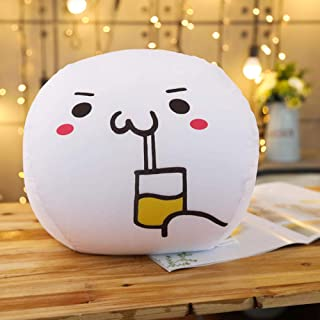 Text Pillow_Yan Text Pillow Anime Peripheral Bubble Particle Emoticon Pillow-30 cm_Cola Jun