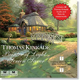 Thomas Kinkade Painter of Light Screen Saver