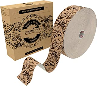 Dynamic Tape 101 feet Bulk Roll Black Biomechanical, Therapeutic, Sports, Clinician Designed for Performance Fitness Athle...