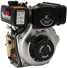 "Motor Multiuso Tde70exp 6.7hp 4t Diesel Eixo 1"" Partida Elétrica Toyama"