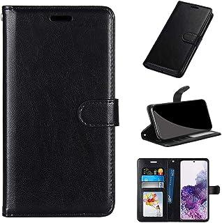 GARITANE Fodral kompatibel med LG X Cam/K580, mobiltelefonfodral fodral med magnet kortfack skyddsfodral retro läderfodral...