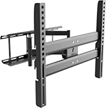 Articulating TV Wall Mount Bracket for Most 37 to 70 inch Plasma, LED, LCD, OLED Flat Screen TVs up to 132 lbs, VESA 600 by 400mm (RDTVM), Black by WALI