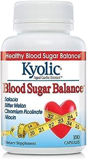 Kyolic Aged Garlic Extract Formula 112, Blood Sugar Balance, 100 Capsules
