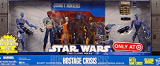 Star Wars 2010 Exclusive Action Figure 4Pack Battle Pack Hostage Crisis 2x Commando Droids, Shahan Alama Robonino by Hasbro