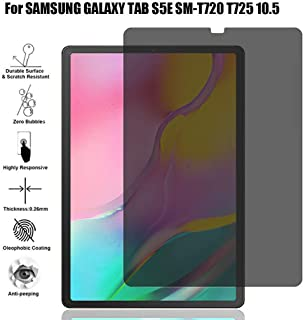 Websad_Privacy Anti-Spy PET Film Screen Protector for Samsung Galaxy Tab S5E SM-T720 T725 10.5inch0 T515