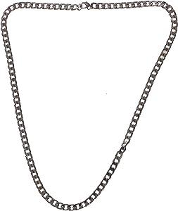 Metallic Chain For Unisex, Silver , 2724810620514