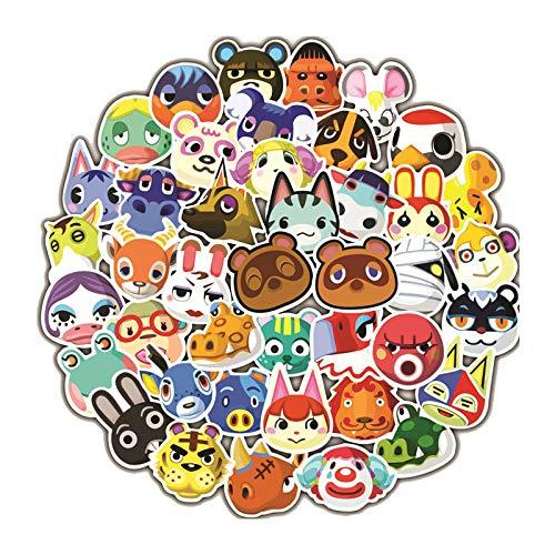 XINFA wildwechsel Aufkleber 50 Spielaufkleber CS Animal Crossing Apex Hero Super Mario Helm Gepäck Motorrad Körper Wasserdichter Aufkleber