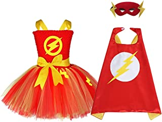 f0def02a8d8da Amazon.com: the flash - Girls / Kids & Baby: Clothing, Shoes & Jewelry