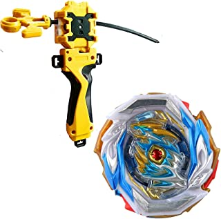 Dwin Bay Battling Top Booster B-154 Imperial Dragon,High Performance 4D Bey with LR Launcher & Grip(Gold)