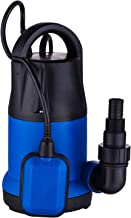 Homdox 1HP Sump Pump Submersible Water Pump Clean/Dirty Water Pump with Float Switch for Swimming Pool Garden