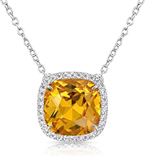 Best yellow stone necklace Reviews