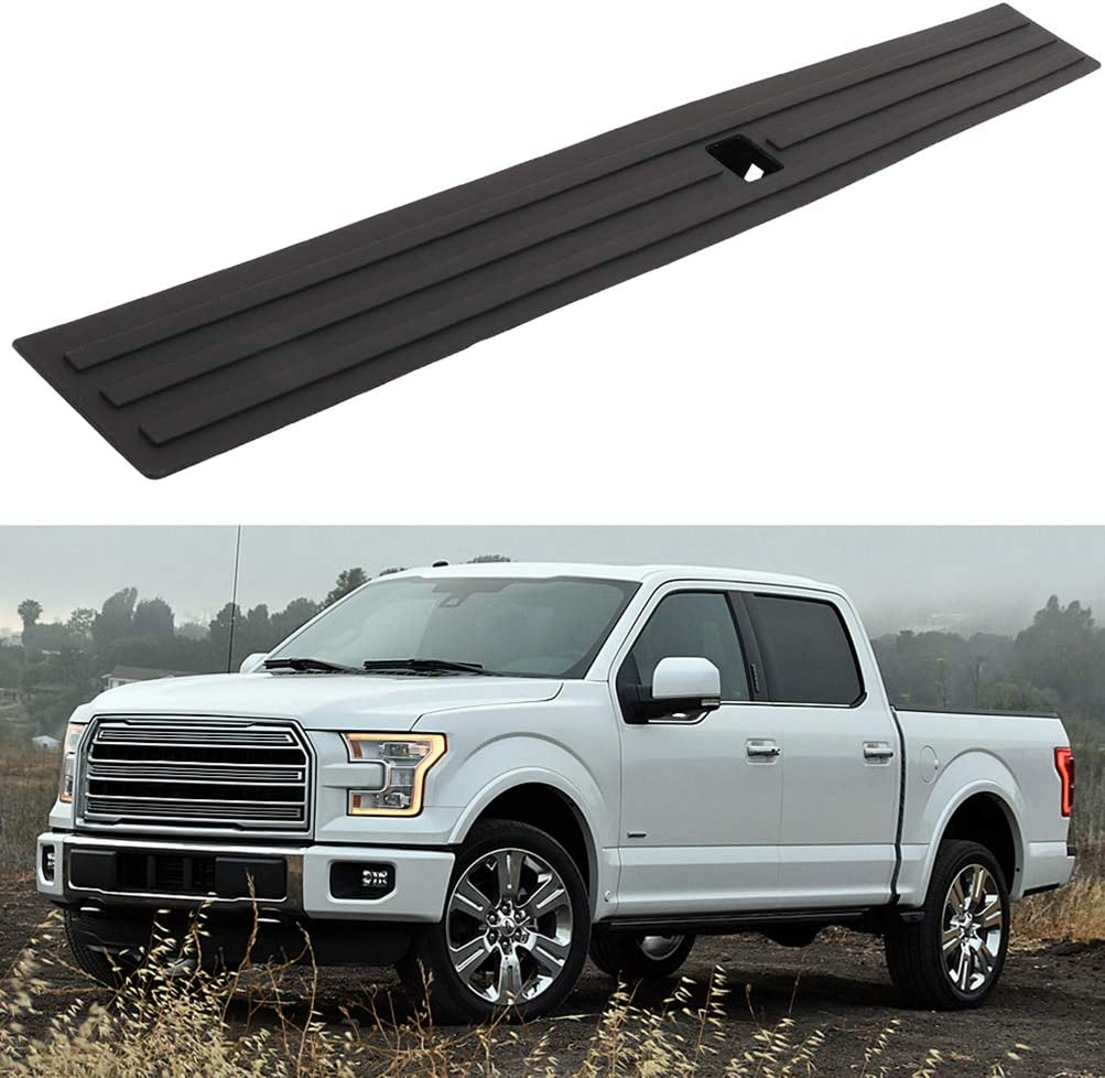 ECCPP Black Low price Tailgate Molding Protector Cover Fit Max 75% OFF 201 Top Cap for