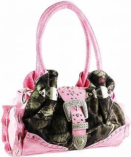 Light Pink Women Purse Handbag Camo Camouflage Mossy Oak
