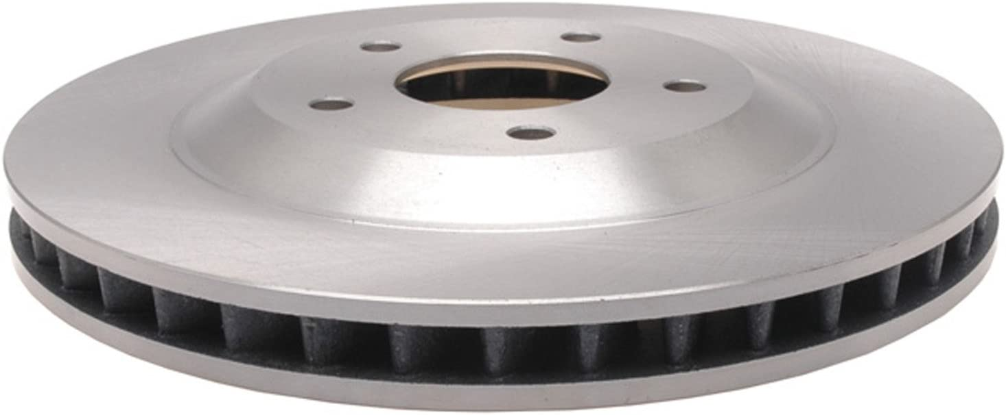 ACDelco Silver 18A947A Front Popular shop is the lowest price challenge Driver New mail order Brake Disc Side Rotor