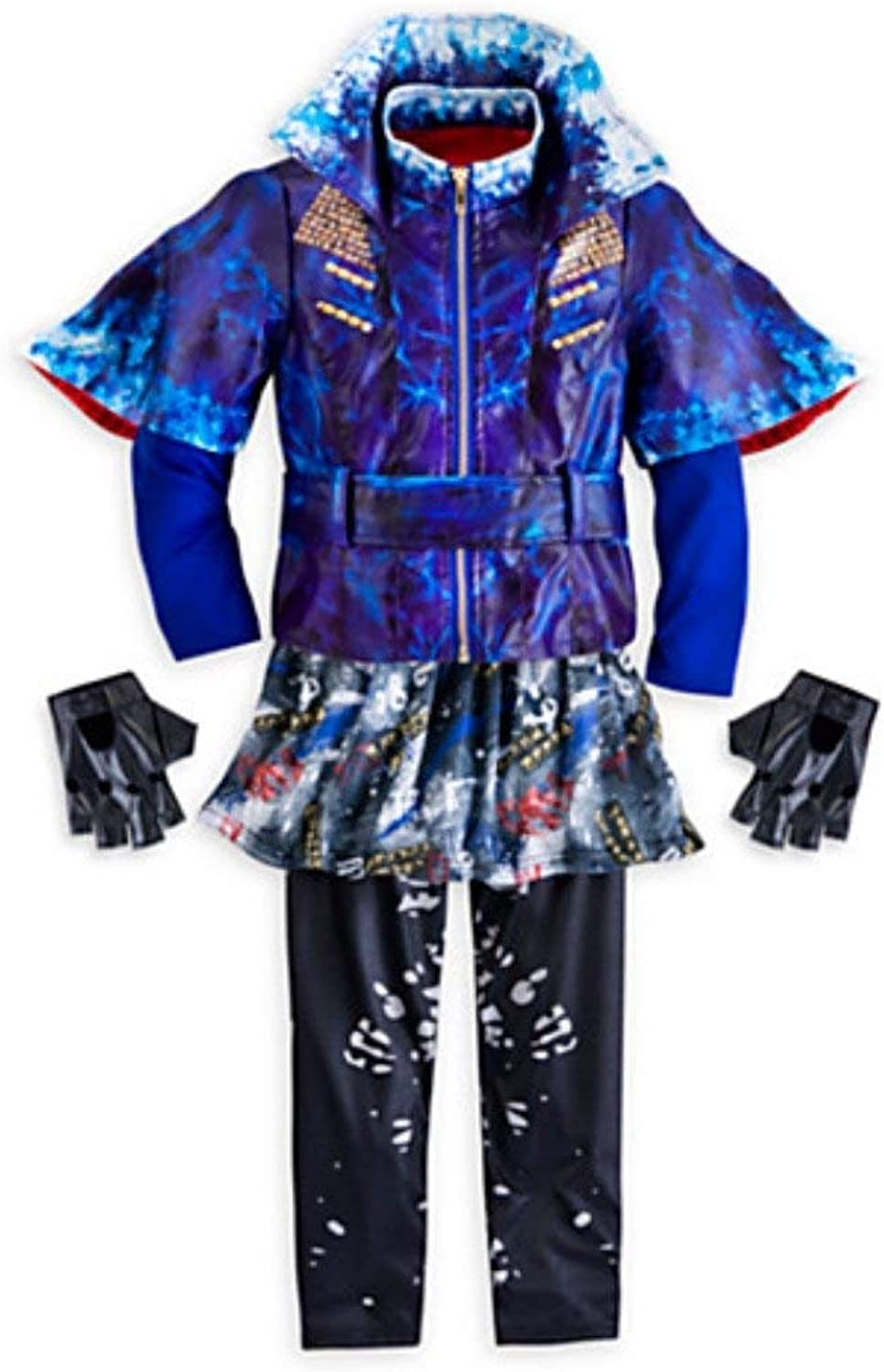 Disney Store Deluxe Descendants Evie Costume For Girls - Size 13