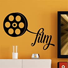 Zaidao Vinyl Saying Lettering Wall Art Inspirational Sign Wall Quote Decor French Quote Bande Film for Theater Home Theater
