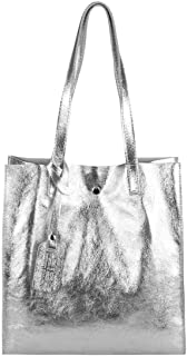 Damen Leder Tasche Set 2in1 Shopper Schultertasche HOBO Bag Umhängetasche Schmucktasche DIN-A4
