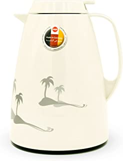 Basic Vacuum Flask Jug Quick Tip Palm - White 1L