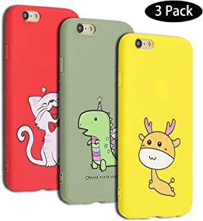 79a409ead0a Leton Funda iPhone 6s Plus, Carcasa Silicona para iPhone 6 Plus / 6s Plus,