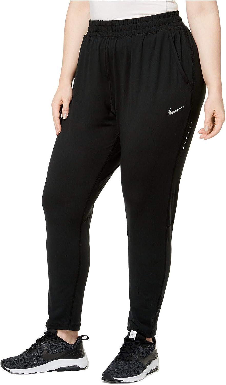 Nike Womens Plus Element Running Dot Print Athletic Pants