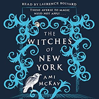 The Witches of New York                   By:                                                                                                                                 Ami McKay                               Narrated by:                                                                                                                                 Laurence Bouvard                      Length: 14 hrs and 15 mins     82 ratings     Overall 4.1