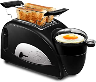 CNMGB Tostadora 2 Ranuras súper Anchas con Control de Dorado Ajustable Tostadora emergente automática Tostadora Multifuncional para Desayuno Tostadora Totalmente automática