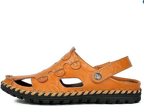 Sandales D'été Pour des hommes,Air Creux Sandales Semelle Souples