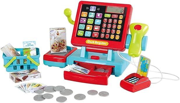 PlayGo - Caja registradora táctil eléctrica (44585): Amazon.es: Juguetes y juegos