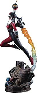 """Tweeter Head DC Super Powers Collection Harley Quinn 19"""" Resin Maquette"""