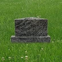 Bahama Blue Granite Mini Upright Monument Gravemarker Headstone Gravestone Apex MN-182