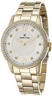 DANIEL KLEIN Premium Alloy Case Stainless Steel Band Ladies Wrist Watch - DK.1.12421-2