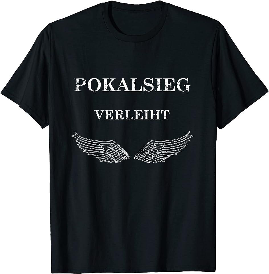 Pokalsieg verleiht Flügel Pokalsieger 2021 Siegershirt T-Shirt