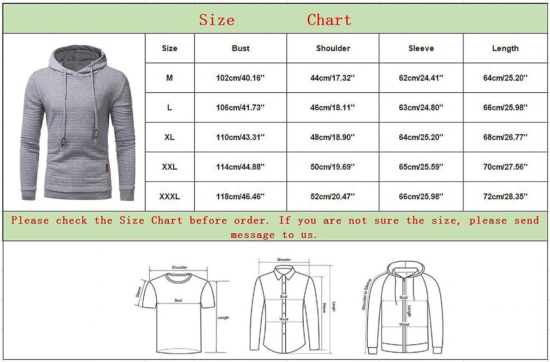 Aayomet Men's Plaid Hoodies Pullover Fashion Autumn Winter Athletic Hoodies Long Sleeve Leisure Mens Hoodies