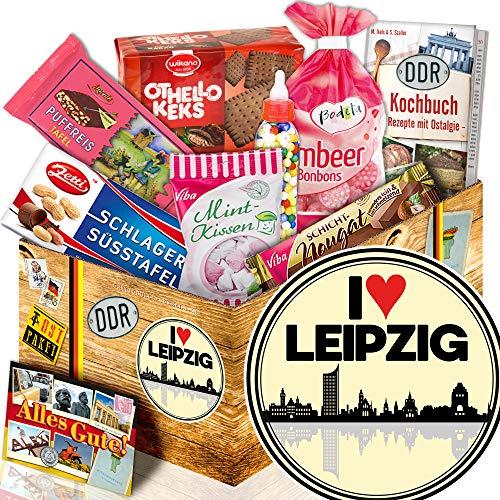 I love Leipzig / Süßes DDR Geschenk / Leipzig für Männer
