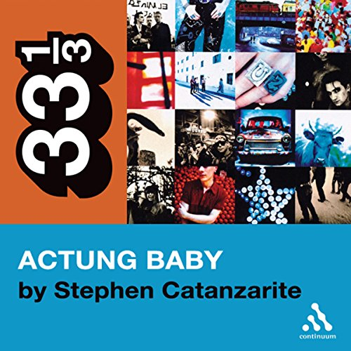 U2's Achtung Baby audiobook cover art